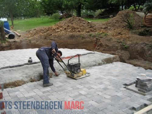 Ets Steenbergen Marc Sprl - Terasse milieu