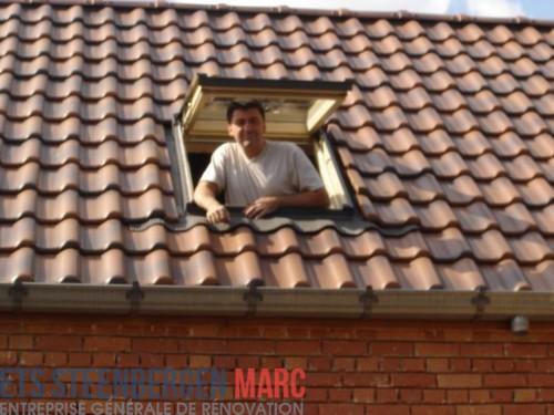 Ets Steenbergen Marc Sprl - Toitures apres